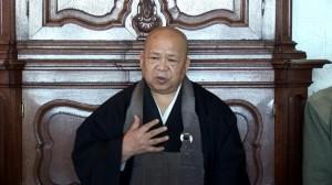 Dhr. Hozumi Roshi, monnik en leraar in de Rinzai Zen traditie