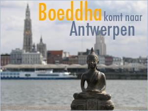 Boeddha komt naar Antwerpen 2009
